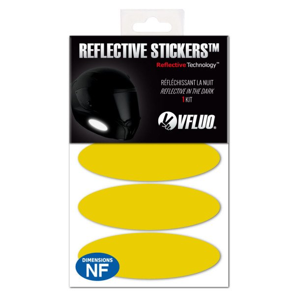 COLORS OVAL™ stickers - Reflective...